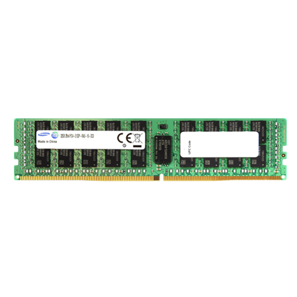 Samsung 64GB DDR4 2400MHz PC4-19200 288-Pin ECC Registered 1.2V Quad Rank DIMM Server Memory M386A8K40BM1-CRC