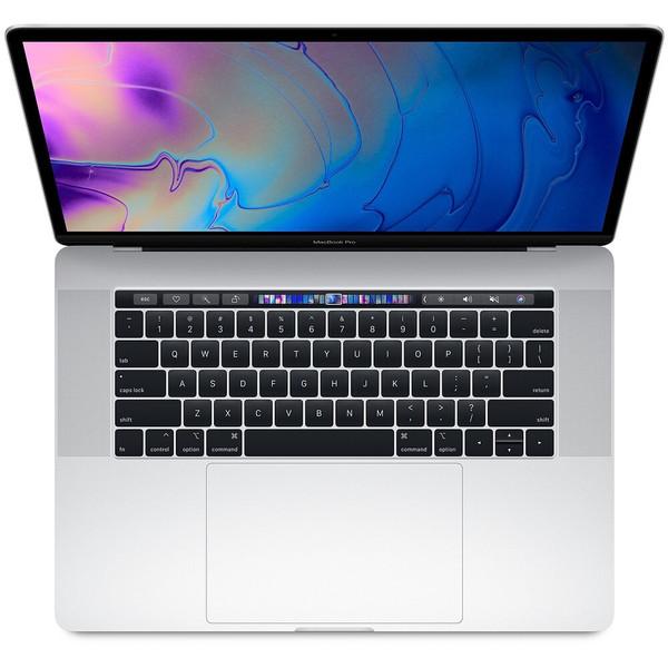 "Apple MacBook Pro 15.4"" Intel Core i7 16GB 256GB Silver Radeon 555x 2019 MV922LL/A Open box"