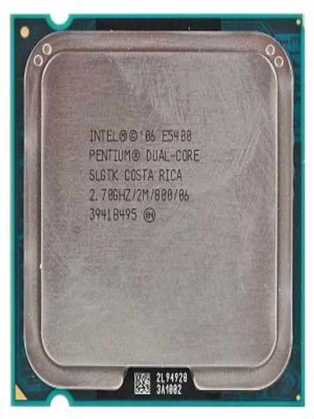 Intel Pentium Dual-Core E5400 2.7GHz OEM CPU SLGTK AT80571PG0682M