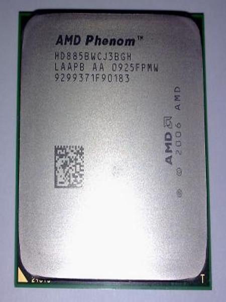 AMD Phenom X3 8850B 2.50GHz 533MHz Desktop OEM CPU HD885BWCJ3BGH