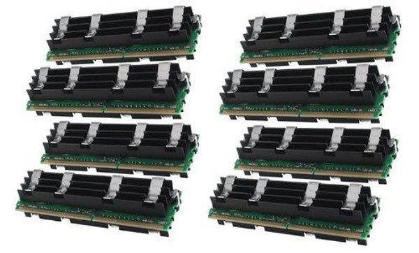 32GB(8x4GB) DDR2 800MHz PC2-6400 240Pin 512X72 Fully Buffered Memory kit for Mac Pro System 2008