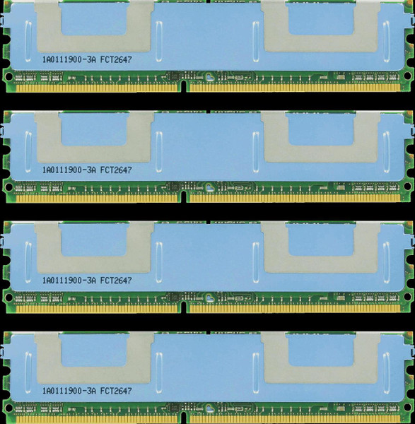 16GB(4X4GB) DDR2 800MHz PC2-6400 240Pin Fully Buffered Memory kit for Mac Pro System 2008
