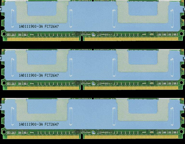 6GB(3X2GB) DDR3 1066MHz PC3-8500 240Pin ECC Unbuffered Memory kit for Mac Pro System 2009
