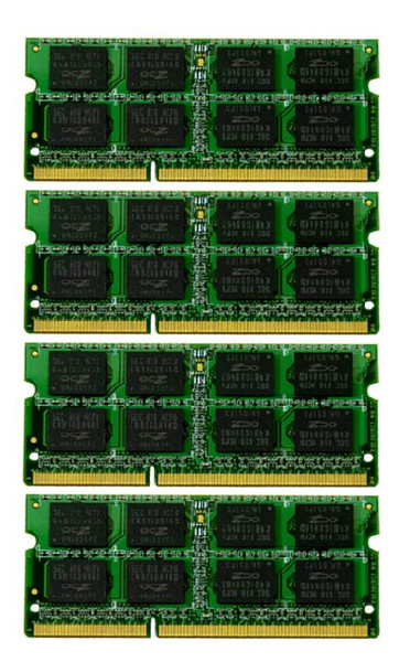 16GB(4X4GB) DDR3 1333MHz PC3-10600 204Pin SODIMM Memory kit for iMac 2010