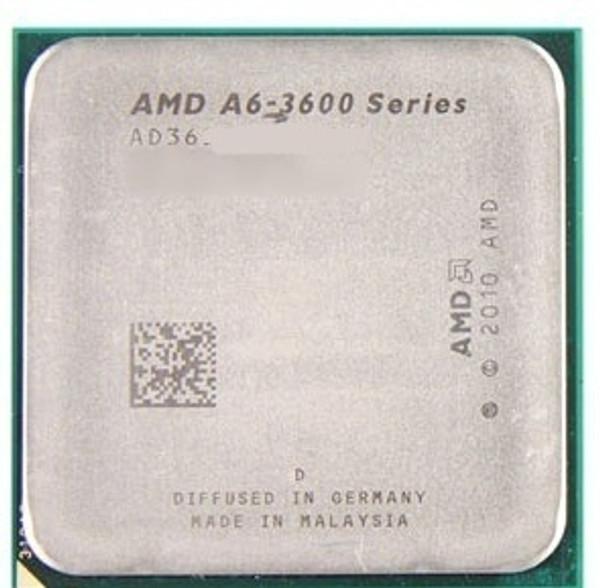AMD A6-3600 2.10GHz Socket FM1 Desktop OEM CPU AD3600OJZ43GX