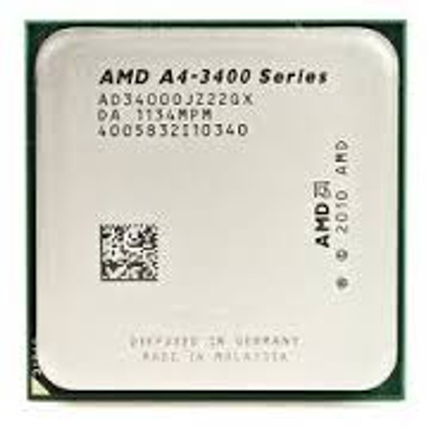 AMD A4-3400 2.70GHz Socket FM1 Desktop OEM CPU AD3400OJZ22GX