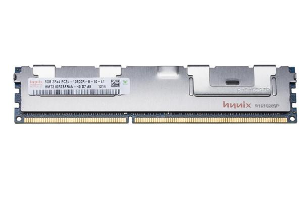 Hynix 8GB DDR3 1333MHz PC3-10600 240-Pin ECC Registered CL9 1.35V DIMM Dual Rank Desktop Memory HMT31GR7BFR4A-H9