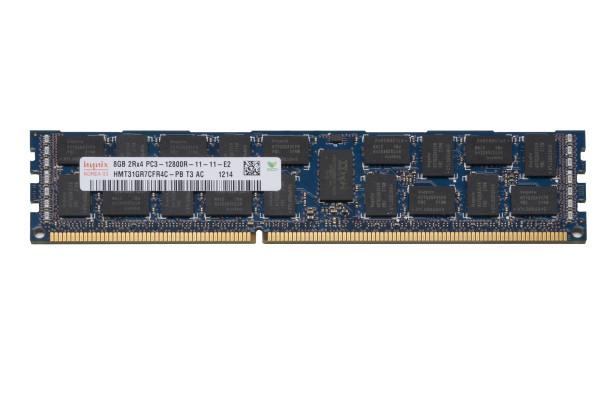 Hynix 8GB DDR3 1600MHz PC3-12800 240-Pin ECC Registered CL11 DIMM Dual Rank Desktop Memory HMT31GR7CFR4C-PB