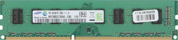 Samsung 4GB DDR3 1600MHz PC3-12800 240-Pin non-ECC Unbuffered DIMM Dual Rank Desktop Memory M378B5273DH0-CK0