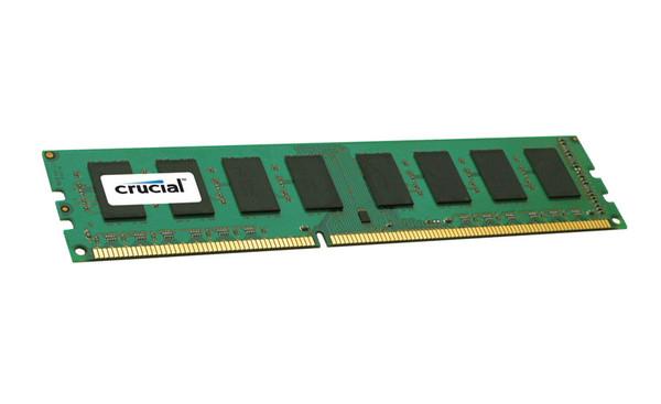 Crucial 4GB DDR3 1333MHz PC3-10600 240-Pin non-ECC Unbuffered Dual Rank 1.35V DIMM Desktop Memory CT51264BD1339