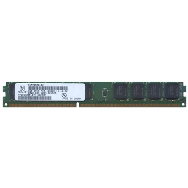 Netlist 8GB DDR3 1600MHz PC3-12800 240-Pin DIMM ECC Unbuffered Dual Rank Desktop Memory NVD1G7235107H-D12THM
