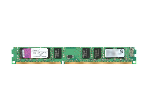 Kingston 2GB DDR3 1066MHz PC3-8500 240-Pin DIMM non-ECC Unbuffered Dual Rank Desktop Memory KTD-XPS730A/2G