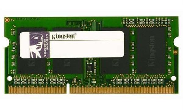 Kingston 4GB DDR3 1600MHz PC3-12800 204-Pin SoDIMM Single Rank Notebook Memory HP698656-154-KEB