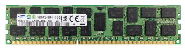 Samsung 16GB DDR3 1600MHz PC3-12800 240-Pin ECC Registered 1.35V LV Dual Rank DIMM Server Memory M393B2G70DB0-YK0