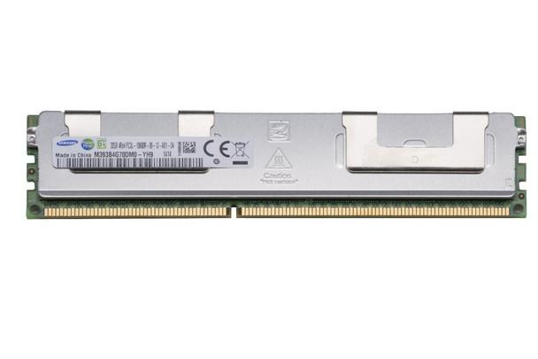 Samsung 32GB DDR3 1333MHz PC3-10600 240-Pin ECC Registered 1.35V LV Quad Rank DIMM Server Memory M393B4G70DM0-YH9