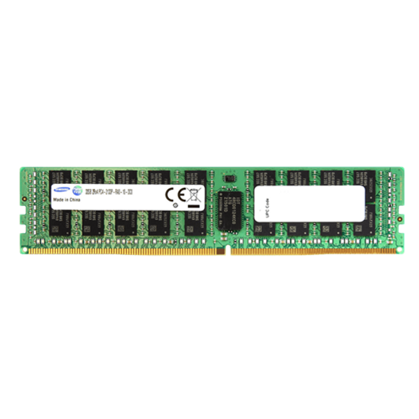 Samsung 32GB DDR4 2400MHz PC4-19200 288-Pin ECC Registered 1.2V Quad Rank DIMM Server Memory M386A4G40DM1-CRC