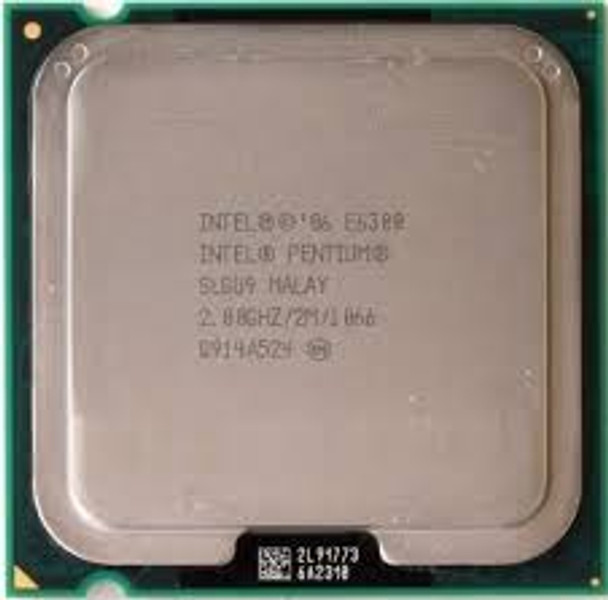 Intel Pentium Dual-Core E6300 2.8GHz OEM CPU SLGU9 AT80571PH0722ML