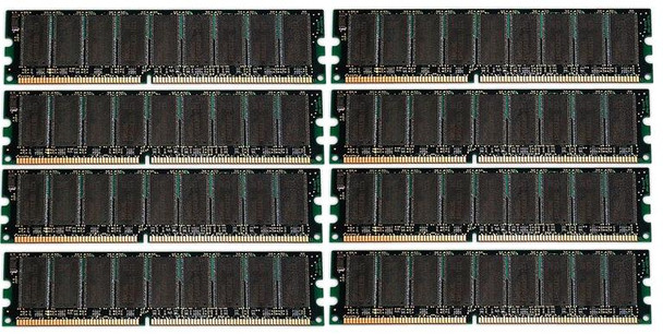 64GB(8X8GB) DDR3 1333MHz PC3-10600 240Pin 1024MX72 ECC Unbuffered Memory kit for 12-Core Mac Pro System 2010-2012