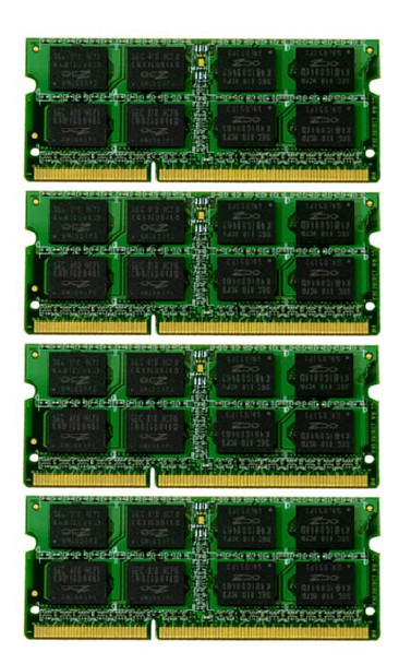 16GB(4X4GB) DDR3 1333MHz PC3-10600 512X64 204Pin SODIMM Memory kit for iMac 2011