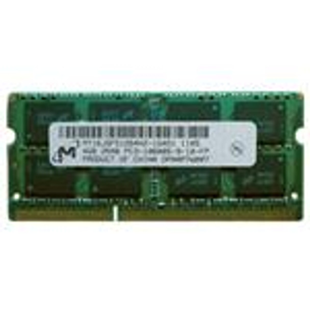 Micron 2GB PC3-10600 DDR3-1333MHz non-ECC Unbuffered CL9 204-Pin SoDimm Dual Rank OEM Notebook Memory MT16JSF25664HZ-1G4F1
