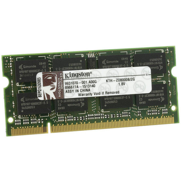 Kingston 2GB DDR2 667MHz 200-pin SODIMM Laptop Memory KTH-ZD8000B/2G