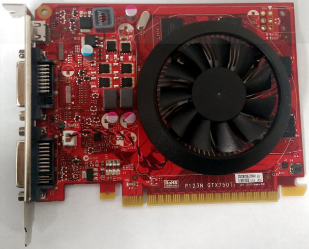 Dell 2GB nVidia GeForce GTX 750 Ti DDR3 PCI Express 2.0 x16 DVI-d Video Graphics Card Mfr P/N 8MXMJ