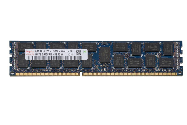 Hynix 8GB DDR3 1600MHz PC3-12800 240-Pin ECC Registered CL11 DIMM Dual Rank Desktop Memory HMT31GR7CFR4C-PB