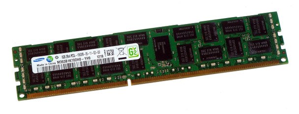 Samsung 8GB DDR3 1333MHz PC3-10600 240-Pin ECC Registered DIMM Dual Rank Desktop Memory M393B1K70DH0-YH9