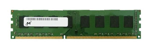 Micron 4GB DDR3 1600MHz PC3-12800 240-Pin non-ECC Unbuffered DIMM 1.35V Single Rank Desktop Memory MT8KTF51264AZ-1G6E1