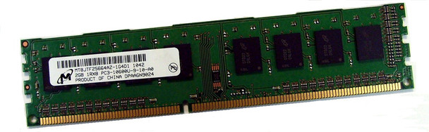 Micron 2GB DDR3 1333MHz PC3-10600 240-Pin non-ECC Unbuffered DIMM Single Rank Desktop Memory MT8JTF25664AZ-1G4D1