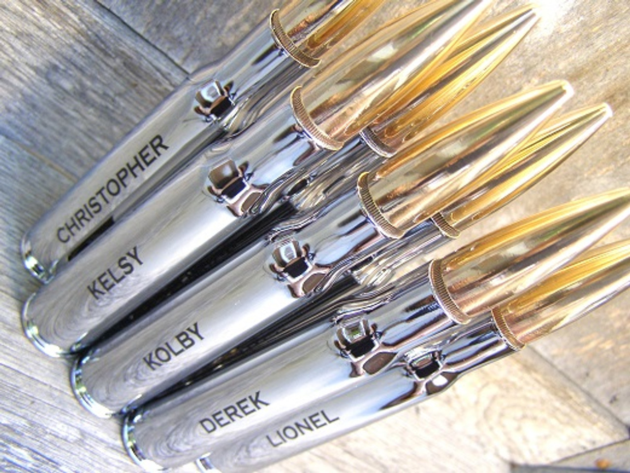 50 Caliber Bottle Openers. Perfect for your wedding party. Groomsman gift Best Man & 50 Cal Chrome Bottle Opener | Engraved Groomsmen Gifts