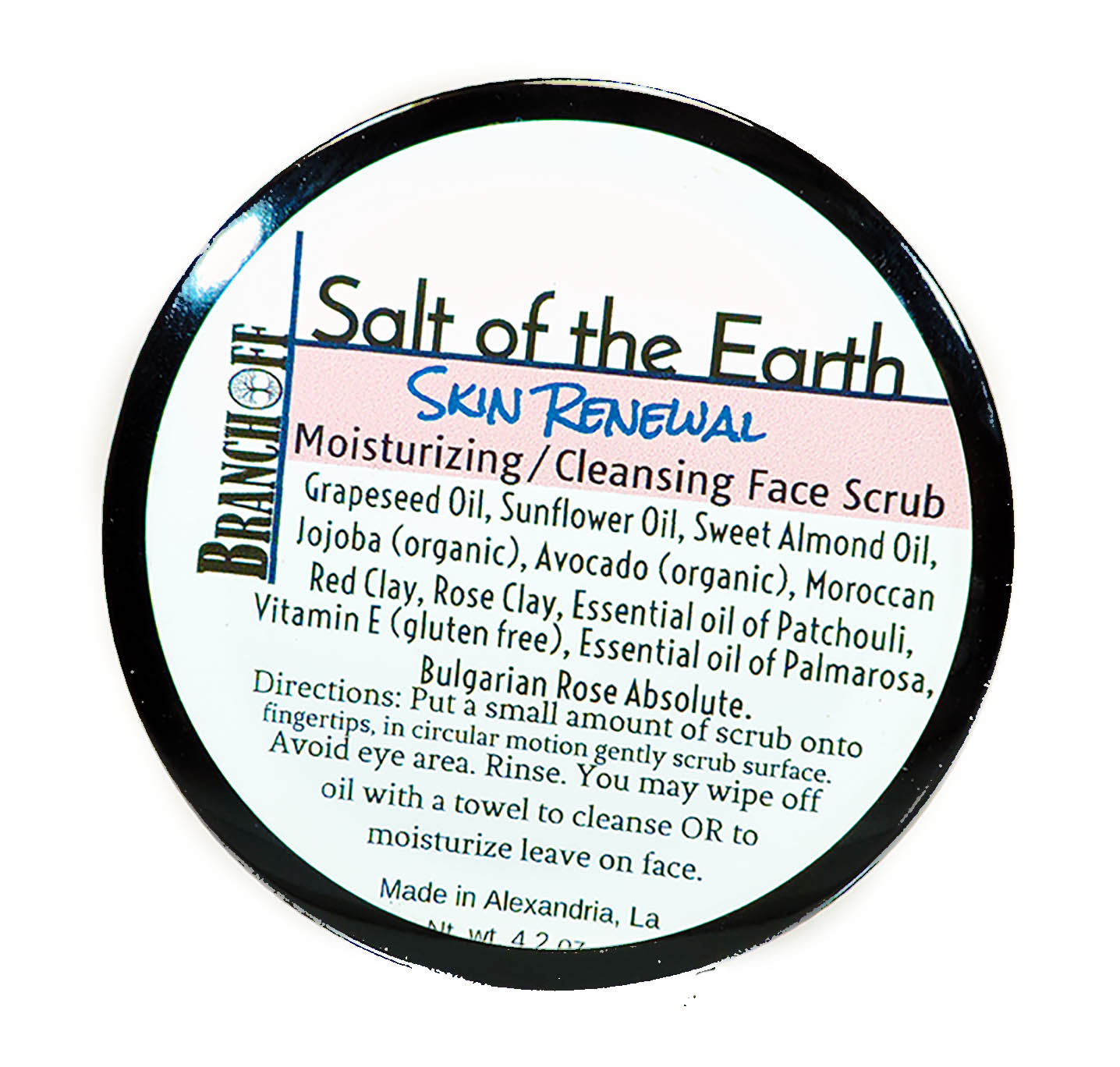 Cleansing, Moisturizing, Himalayan Sea Salt Scrub