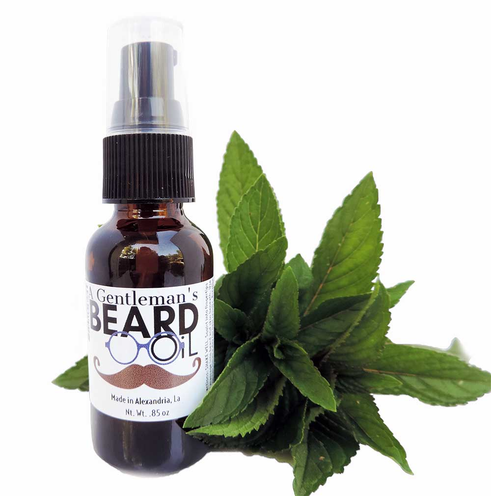Crisp Eucalyptus Beard Oil for Growth & Moisture