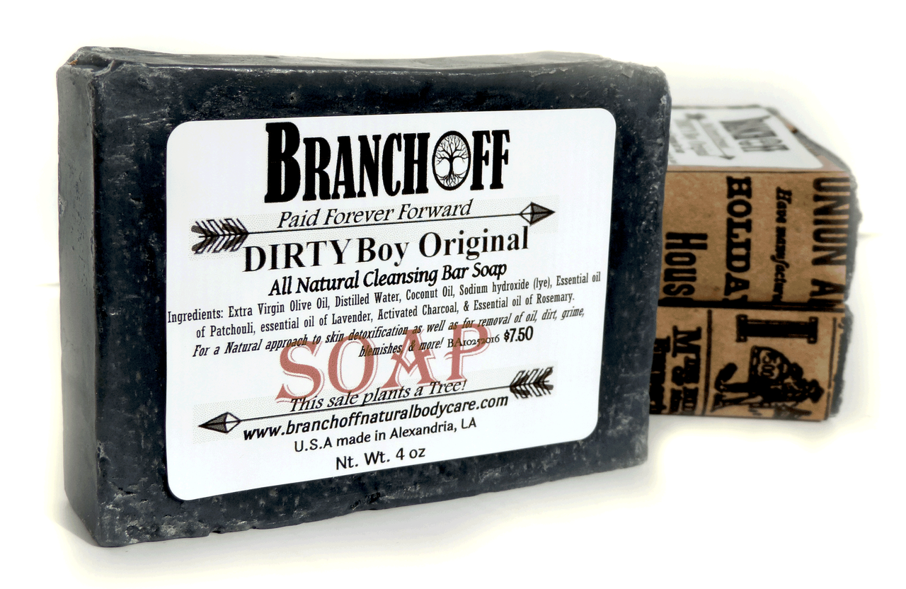 Dirty Boy Charcoal Soap