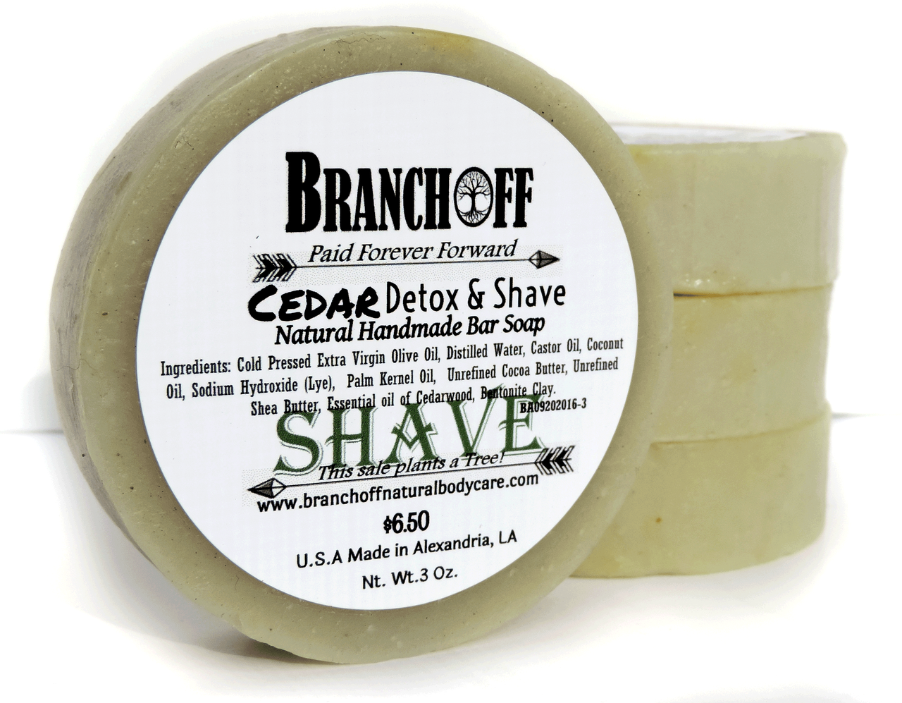 3 Butter Shave Bar