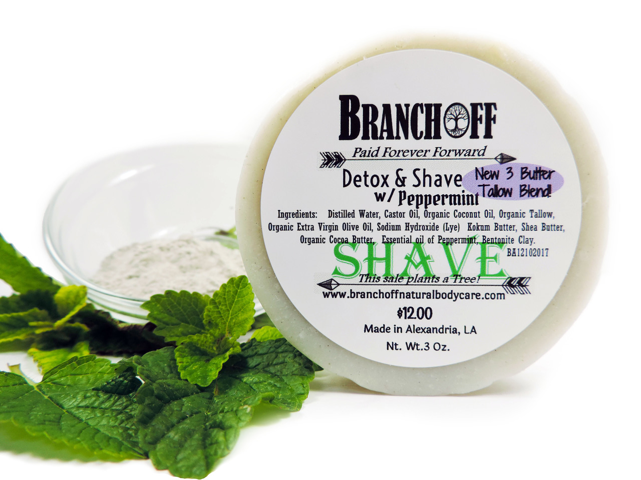 3 Butter Shave Bar