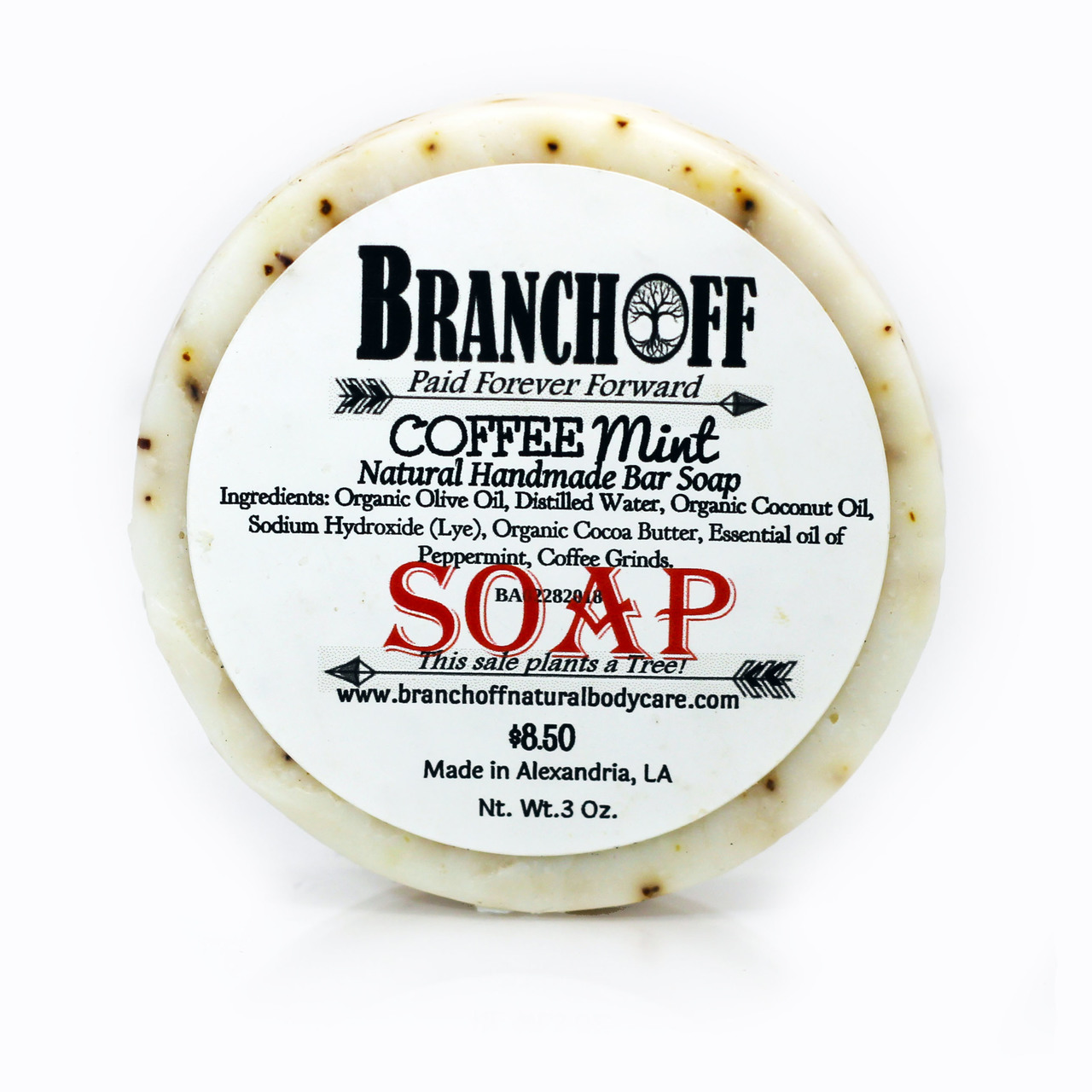 Exfoliate with Coffee and Refresh with Peppermint