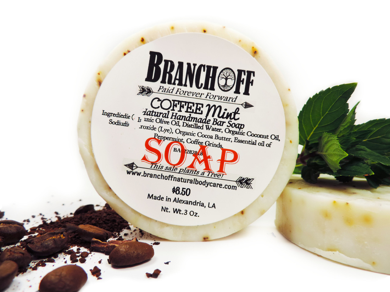 Coca Butter & Coffee Mint Soap