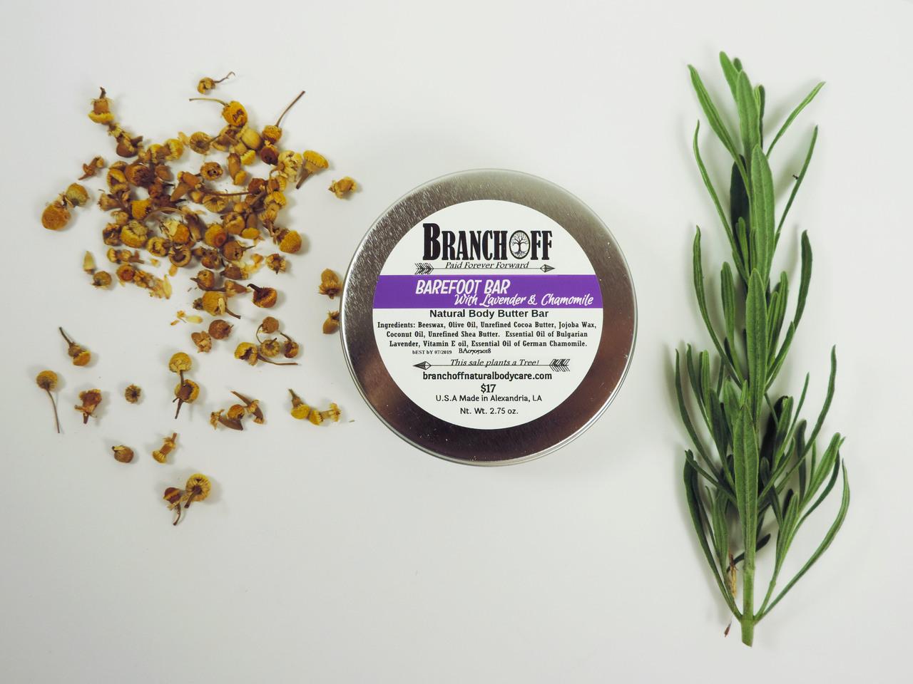 Barefoot Bar  - Lavender/Chamomile