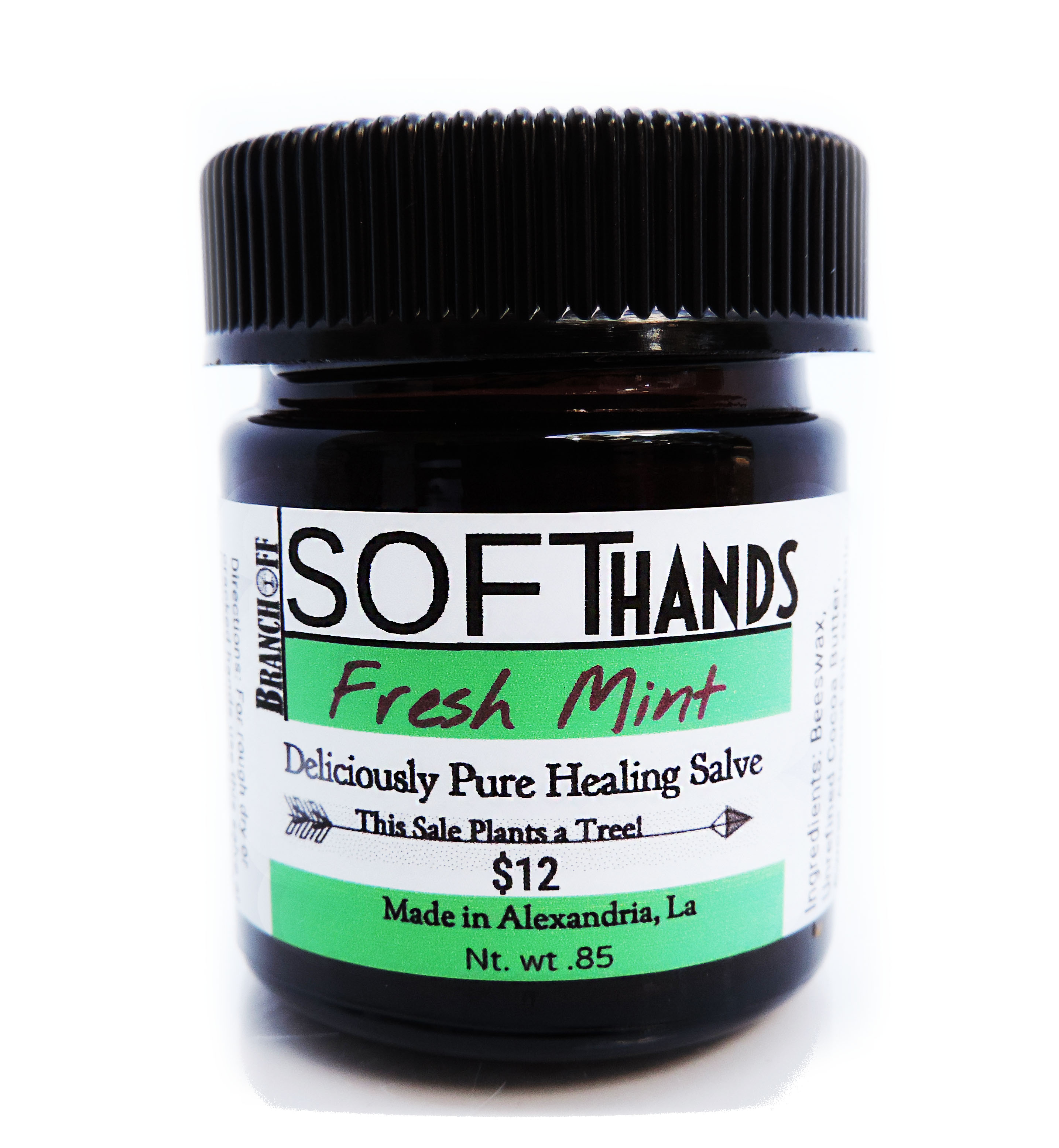 Mint Scented Version of our Working Hands salve