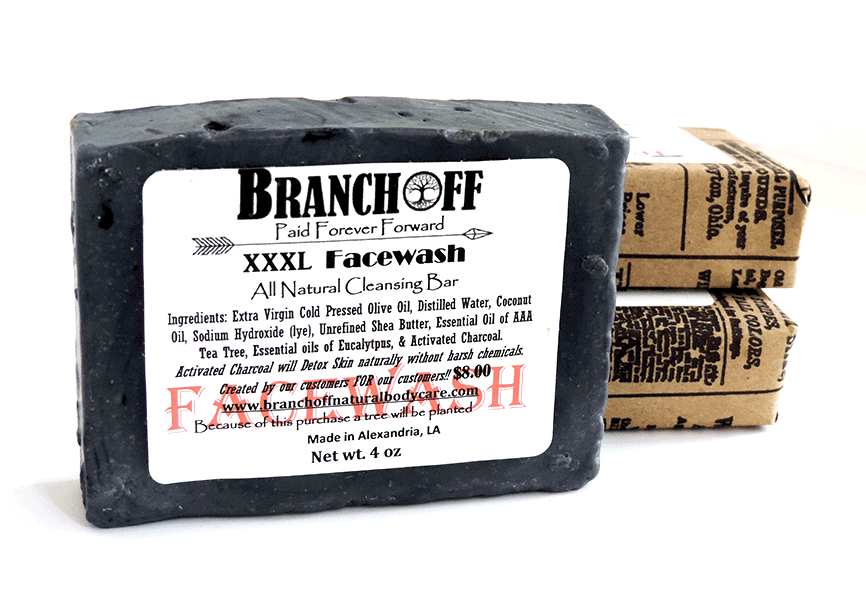 XXL Activated Charcoal Facewash **LOW STOCK**