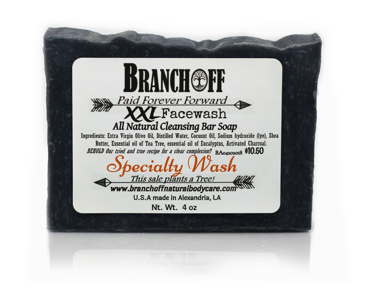 XXL Activated Charcoal Facewash **OUT OF STOCK**