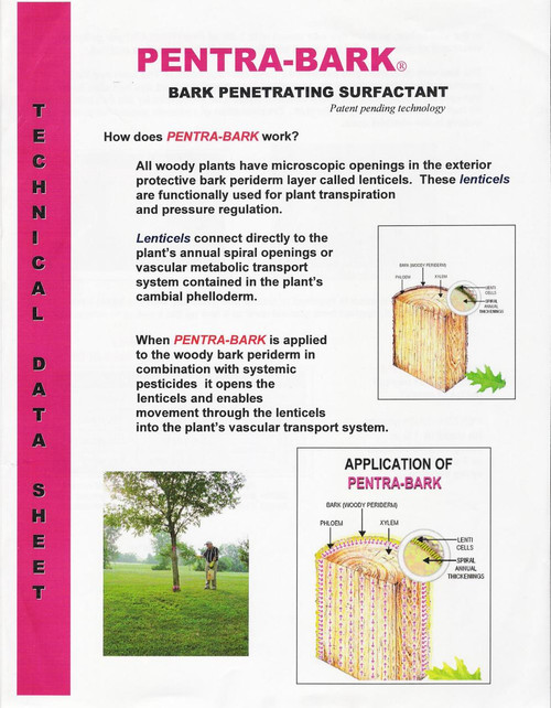 Pentra Bark Penetrating Surfactant - Pint (16oz)