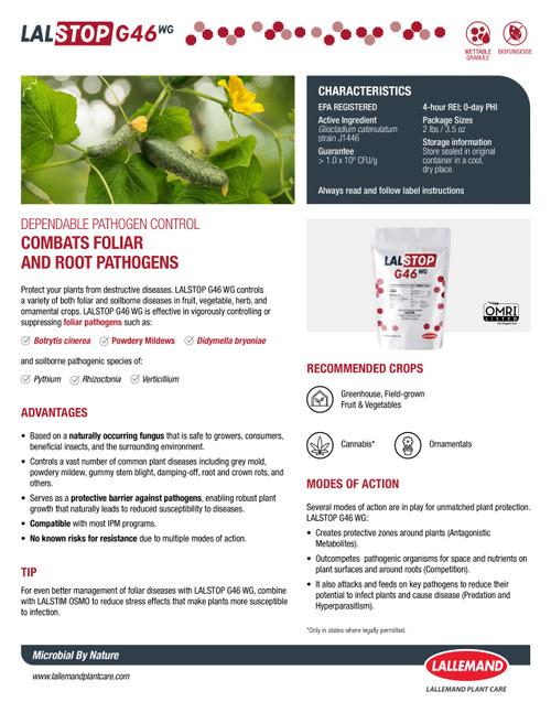 LALSTOP G46 Tech Sheet P1