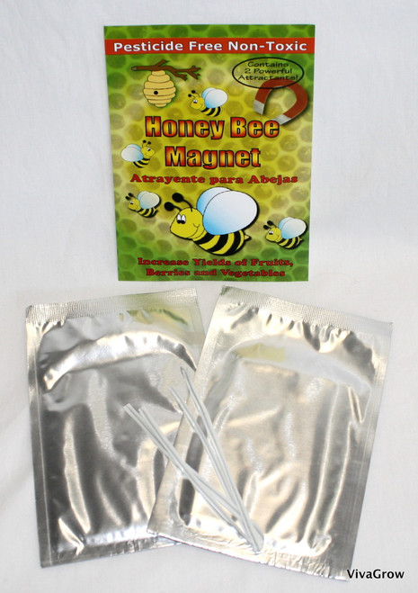 VivaTrap! Honey Bee Magnet (2 Pack)