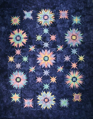 Winter Solstice Quilt Kit-Hand Dyed by Starr Designs