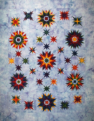 Mariners Starr Quilt Kit-Hand Dyed by Starr Designs-Whole Kit or BOM