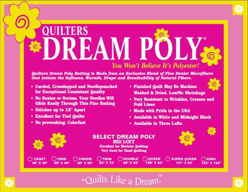 Quilters Dream Poly Request Batting