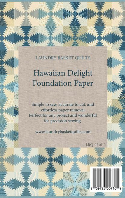 Foundation Hawaiian Delight # LBQ-0716-P Foundation Paper