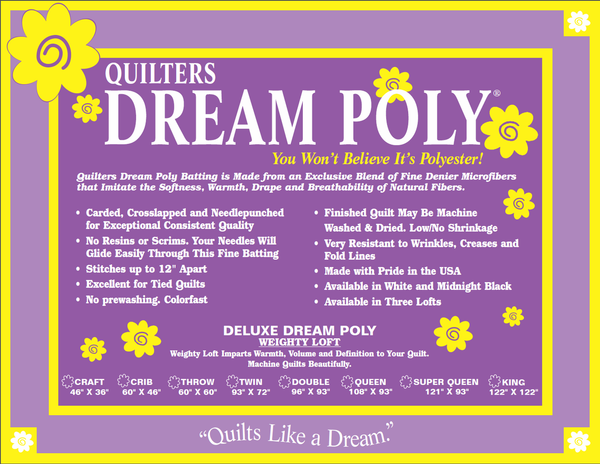 Quilters Dream Poly Deluxe Batting